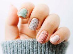 El nuevo efecto de uñas tejidas que vas a amar
