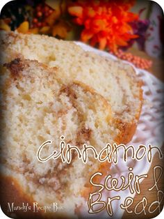 Cinnamon Swirl Quick Bread on Mandy's Recipe Box. Tastes just like Amish Friendship Bread, but without the work!