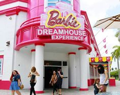 Inside the world's first ever life size Barbie dream house.