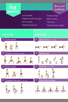 Free 7 Day Kayla Itsines Workout #Health #Fitness #Trusper #Tip