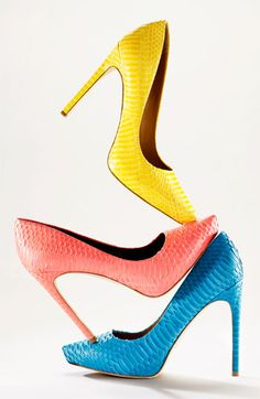 Colorful Pumps for Summer