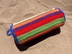Estuche para lápices en crochet