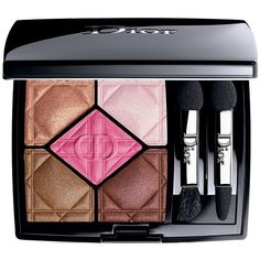 Dior 5 Couleurs Designer Eyeshadow Palette ($62) ❤ liked on Polyvore featuring beauty products, makeup, eye makeup, eyeshadow, beauty, khaki design, palette eyeshadow, christian dior, christian dior eyeshadow and christian dior eye shadow