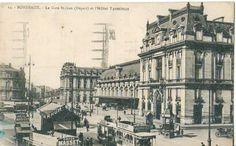[OThistory] Nel 1894 la Wagon-Lits fonda la Compagnie Internationale des Grands Hôtels, inaugurando il concetto di catena di alberghi di lusso nelle grandi città. Suoi sono l'Hôtel Terminus di Bordeaux (nella cartolina), il Pera Palace Hôtel a Istanbul, costruito nel 1892, proprio per i passeggeri che viaggiano sull'Orient Express, l'Hôtel de la Plage a Ostenda e il Grand Hôtel des Wagon-Lits a Pechino.