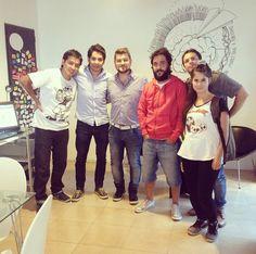 Iván, Rodrigo, Luchín & chicos de la escuelita de verano 1