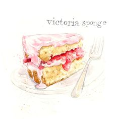 Teatime Treats & Classic Cakes  by Amy Holliday, via Behance