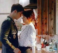 song Hye Kyo-Song joong ki Descendants of the Sun Song Joong, Song Hye Kyo, Songsong Couple, Best Couple, Korean Actors, Korean Celebrities, Korean Dramas, Desendents Of The Sun, Descendants Of The Sun Wallpaper