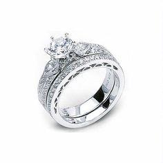 23ct Simon G Diamond Antique Style Platinum Wedding Band Ring