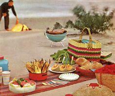 romantic beach picnic for two | picnic-beach-1963