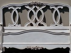 Vintage French Provincial Bed on Etsy, $399.00