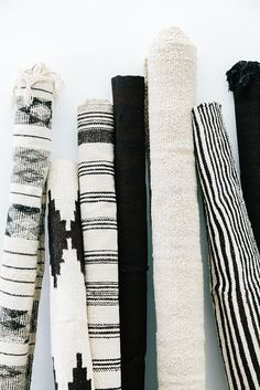 Pampa rugs | handwoven rugs | monochrome rugs | black and white rugs