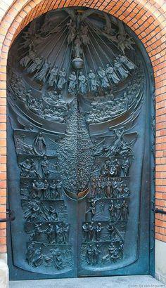 amazing #doors in Poland