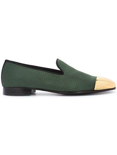 Louis Leeman high shine trim loafers