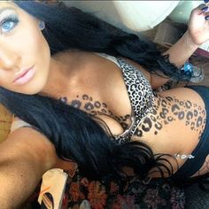 Awesome leopard tattoo