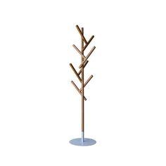 木のようなオブジェとして暮らしを演出するコートハンガーの画像
