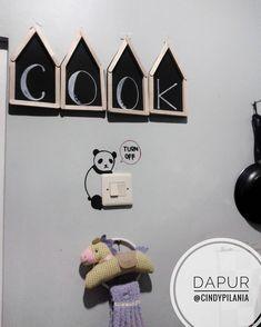 Dekorasi Dapur Dengan Hiasan Dinding Tulisan Dari Stik Es Krim Diy And Crafts