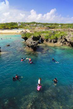 宮古島きっての個性派海浜公園! 「イムギャーマリンガーデン」|沖縄CLIP