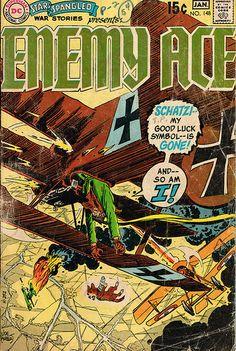 Star Spangled War Stories presents Enemy Ace #148 - Joe Kubert art  One of the saddest comic stories I ever  read.