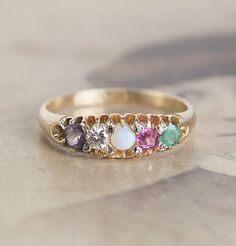 A Super-Unique Wedding Ring With a Romantic Hidden Message. I'm Obsessed