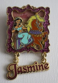 Jasmine Princesses and Horses – Everything Disney Pins