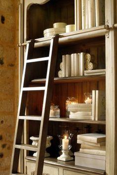 шкаф книжный широкий ″Шато″ - под старину