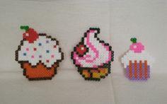 cupcakes perler beads
