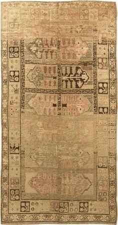 Antique Rug,Antique Carpets,Antique Persian Rugs,Tabriz Rugs,Custom Rugs - Samarkand Vintage Rug BB4400