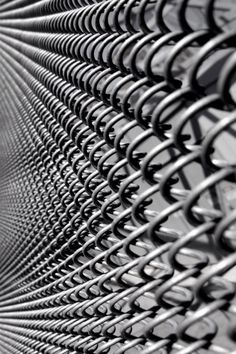 Silver | 銀 | Plata | Gin | Argento | Cеребро | Argent | Metal | Chrome | Metallic | Colour | Texture | Pattern | Style | Design | Fence by Dialed-in