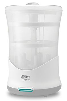 The First Years Power of Steam Electric Steam Sterilizer, Pacifier & Bottle Cleaner Best Baby Bottles, Baby Bottle Sterilizer, Cute Baby Pictures, First Year, Baby Feeding, Baby Accessories, All In One, Household, Electric