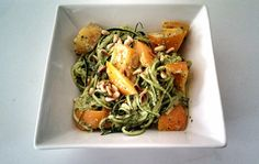 Pesto Zucchini Noodles (Dairy Free, Gluten Free)