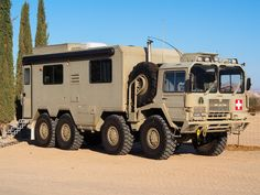 MAN 8x8 off road truck.  Great bug out vehicle!