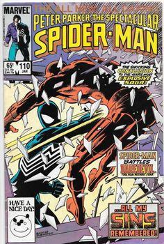 Peter Parker, The Spectacular Spider-Man #110 Marvel Comics VF-