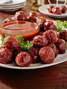 Get Sweet and Spicy Sriracha Meatballs Recipe from Food Network