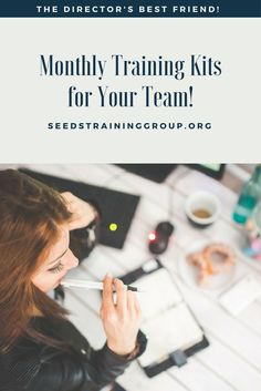 Let us do the work for you! We deliver monthly training kits for you and your team! Never have a boring staff meeting again! Take Care Of Yourself, Work On Yourself, Art Center Preschool, Preschool Director, Training Kit, Staff Meetings, Meet The Team, Career Advice, Best Friends