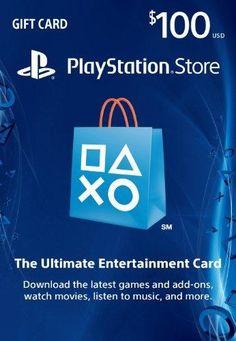 $100 PlayStation Store Gift Card - PS3/ PS4/ PS Vita [Digital Code] https://ifreecards.tumblr.com