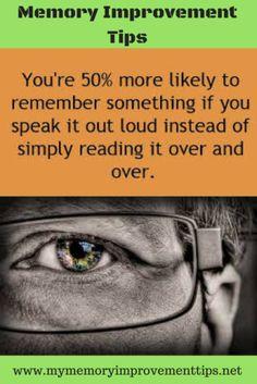 memory improvement tips