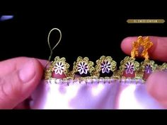 Creative Embroidery, Needle Lace, Crochet Videos, Diy And Crafts, Make It Yourself, Long Hair Styles, Earrings, Youtube, Jewelry