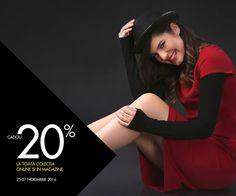 "FASHION GIFT DAYS💫 25-27 NOIEMBRIE Astazi, 24 noiembrie, ora 0 am, dam startul ""Fashion Gift Days""! Toate produsele din magazinele YOKKO & online, intra in promotie!  Rasfata-te cu YOKKO!  #dress #skirt #jackets #blouse #promotion #shoppingparty #yokko #fashiongiftdays"