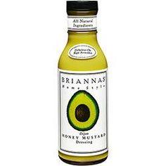 Molho Americano Briannas Dijon Honey Mustard 355g