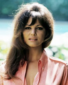 Claudia Cardinale, born in La Goulette, a neighborhood of Tunis, French Tunisia
