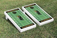 ASU Hornets Cornhole Set - Alabama State Football Field Version - 24643