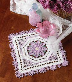 Ravelry: Lovely in Lavender pattern by Carol Alexander