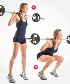 Barbell Siff Squat  http://www.womenshealthmag.com/fitness/types-of-squats/barbell-siff-squat