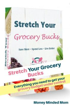 Looking to save time in the kitchen & money on food, then you need the Stretch Your Grocery Budget Binder. The planner was designed to help make the most of your time & money by focusing on key aspects that trip us up. The binder has meal plans that you can use for a family of one, two, four or ten & for a weekly or monthly planning. Other forms include a leftover planner, cooking conversion charts, pantry challenge printables, grocery lists and price books and so much more! #groceries… Save Money On Groceries, Ways To Save Money, Money Saving Tips, Groceries Budget, Money Savers, Money Hacks, Money Tips, Budget Meal Planning, Financial Planning
