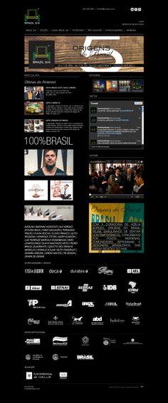 Brazil S/A 2014 - digital e impresso, coordenação e design. time: Dani Gautio (diretora criativa)   Andrew Iucher (designer)   Felipe Batista (estagiário programação)   Priscila Gomes (user testing) E Design, Spotlight