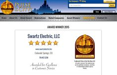 Swartz Electric, LLC has won the coveted STAR AWARD by combining superior construction product & excellent customer focus! This award has been presented to Swartz Electric, LLC by Pulse of the City News.