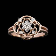 Jewellery Designs, Gold Jewellery, Beautiful Gold Rings, Promise Rings, Diamond Rings, Heart Ring, Pearl, Concept, Engagement Rings