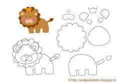 leeuwtje van vilt 2