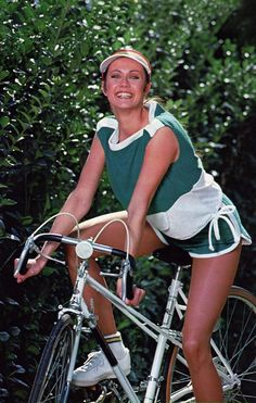 Picture of Lynda Carter Bike Path, Lynda Carter, Bicycle, Wonder Woman, Women, Bike, Bicycle Kick, Bicycles, Wonder Women