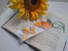 unique mini art watercolor peper bookmark lovers fruit
